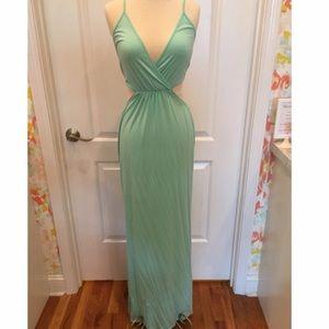 TOBI Mint Green Formal / Maxi Dress